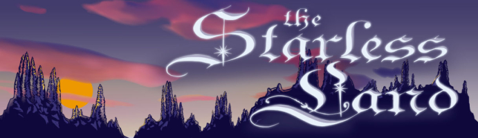 The Starless Land header logo